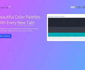 Color Tab, una paleta de colores en cada pestaña